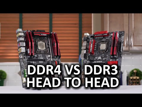 DDR4 vs DDR3 - Apples to Apples Comparison