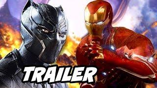 Black Panther Trailer - Iron Man Armor vs Black Panther Explained