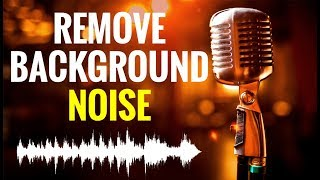 How To Remove Background Noise From Audio | Audio Editing in Hindi / Urdu
