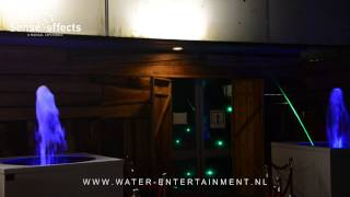 Waterpoort Entree - Waterdecoratie met Jumping Jets