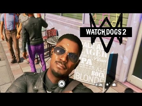 Мэддисон играет в Watch Dogs 2