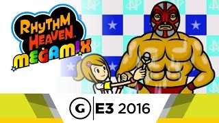 Rhythm Heaven Megamix Minigame Showcase at E3 2016