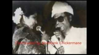 Asha Bhosle & Kishore Kumar Live (JAANE JAAN DHOONDTA........)
