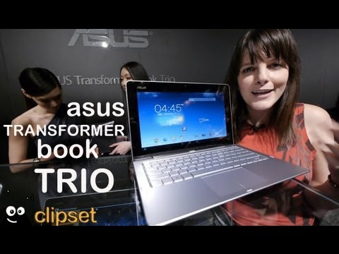 Asus Transformer Book Trio preview Computex Videorama