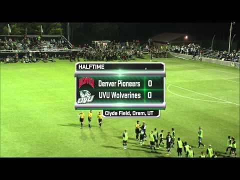 NCAA Soccer: #21 Denver University at Utah Valley University