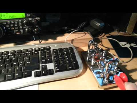 F8dgy/qrp with bug key qso with ja3gsm