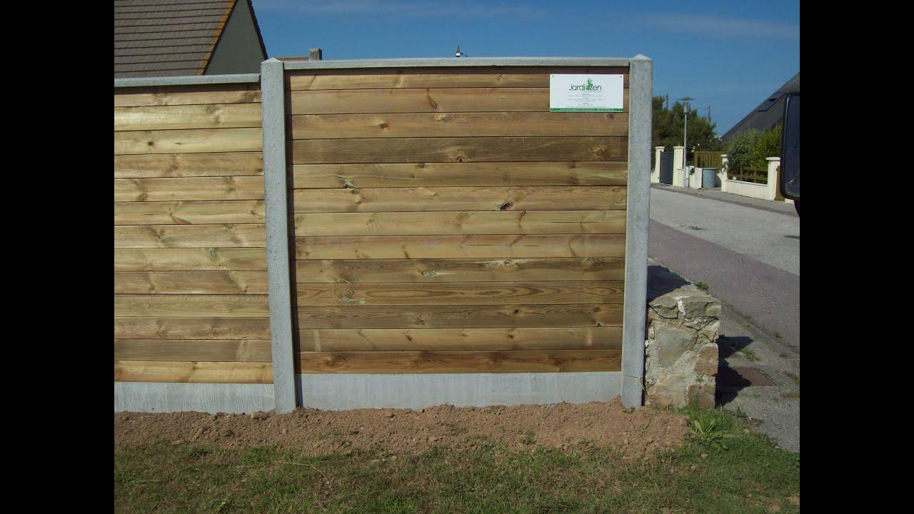 Cloture Beton Imitation Bois Castorama – Lsmydesign.com