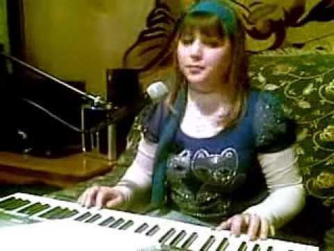 чеченка очень красиво поёт