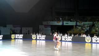 Ksenia Osnovina - Konstantin Chistikov - World Games 2017