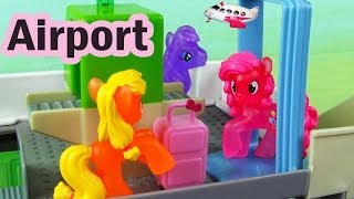 MLP Airport Security Check My Little Pony Travel Part 2 Rarity Pinkie Pie Apple Bloom