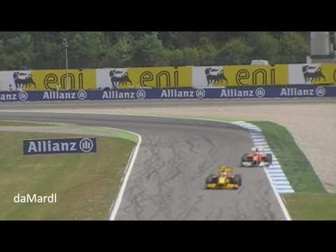 F1 2010 Great start Felipe Massa, Alonso wins the German GP Hockenheim