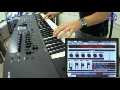 Yamaha Motif XF Workstation