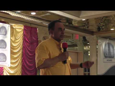 Business Opportunities in Today's India - Dr Swamy's Talk at iCEO Club in Edison, NJ