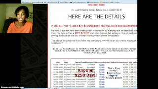 Email Processing For Cash Unlimited $25-SCAM