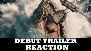 Jurassic World (2015) - Official Trailer #1 (REACTION)