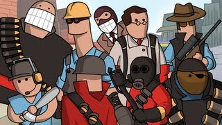 LORE - Team Fortress 2 Lore in a Minute!