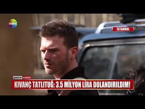 """Kıvanç Tatlıtuğ: """"3.5 Milyon Lira dolandırıldım!"""""""