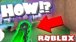 HOW TO SURVIVE A KNIFE IN ROBLOX ASSASIN
