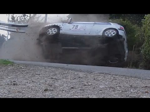 Rallye de la porte normande 2016 #Action, Drift and Crash!!!