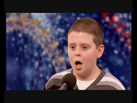 LIAM McNALLY STUNS THE AUDIENCE ON BRITAIN'S GOT TALENT SINGING DANNY BOY