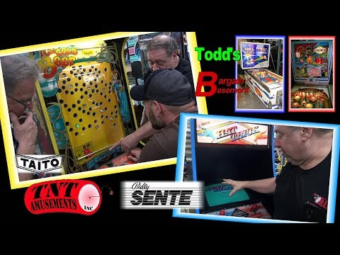 #1445 Taito ICE COLD BEER Arcade-Bally Sente HAT TRICK Video Game-TNT Amusements
