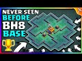 Most Insane BH8 Labyrinth Style Base | Best Base With 100% Win Rate New!! 2018 | Epic Design - COC