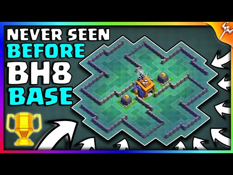 (5.27 MB) Most Insane BH8 Labyrinth Style Base   Best Base With 100% Win Rate New!! 2018   Epic Design - COC