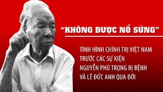 Tình hình Việt Nam trước việc Nguyễn Phú Trọng bị bệnh và Lê Đức Anh qua đời