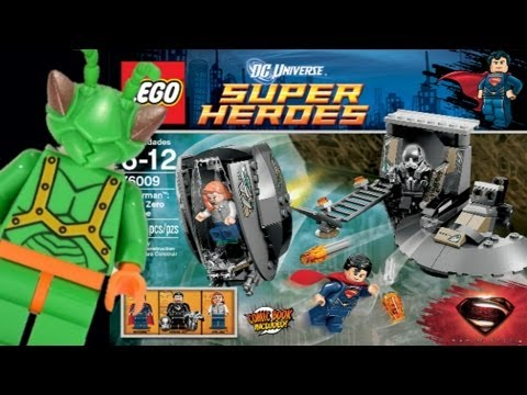 LEGO Man of Steel Black Zero Escape Review 76009