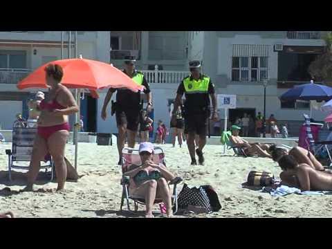 La Delegación de Playas realiza simulacros de emergencia en la Costilla