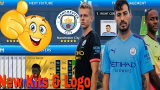 How To Create Latest Manchester City Kits & Logo 2019/2020 | Dream Legaue Soccer 2019