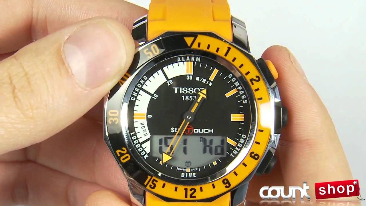 Tissot Sea Touch Orange Tissot T-touch Sea-touch