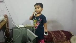 Baby Talking on Phone- Youtube