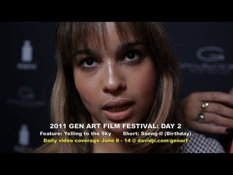 Night 2 - Zoe Kravitz & Gabourey Sidibe (2011 GEN ART FILM FEST)