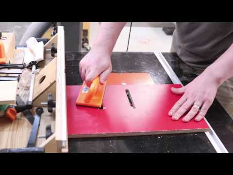 how to cut long angles on a table saw