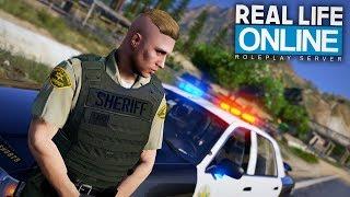 SHERIFF CSYON AUF STREIFE! 😎 - GTA 5 Real Life Online