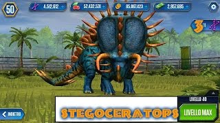 Jurassic World - LEVEL 40 STEGOCERATOPS