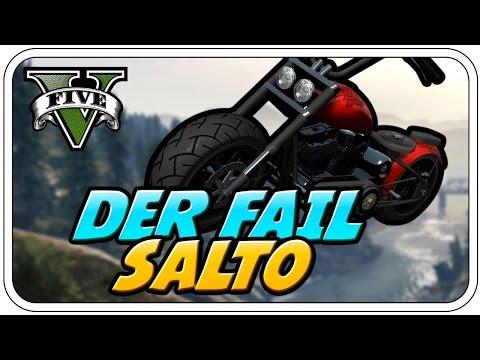 DER FAIL SALTO - ♠ GTA V ONLINE SEASON 2 ♠ - Let's Play GTA V Online - Dhalucard
