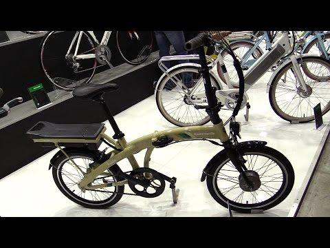 2015 Benelli Foldecity Foldable Electric Bike - Walkaround - 2014 EICMA Milan Moto Show