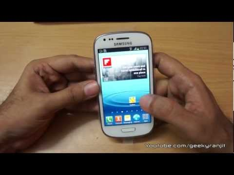 Samsung Galaxy S3 Mini Unboxing and Overview