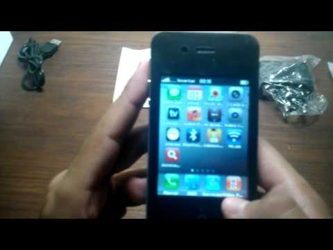 Review Celular I68 Wifi y Tv