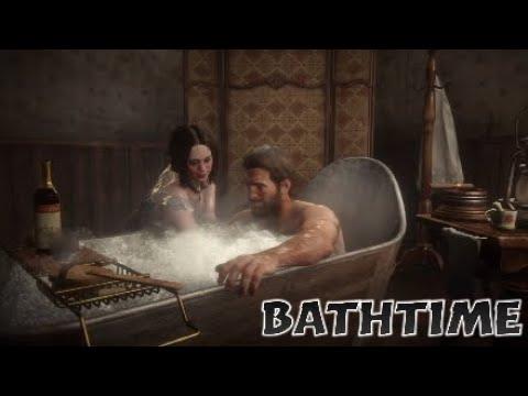 Bathtime - Red Dead Redemption 2