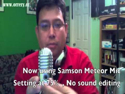 Samson Meteor Mic vs Samson C01U Mic.good