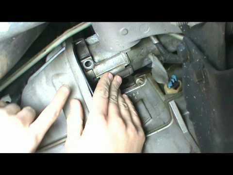 GMC YUKON 2004 STARTER REMOVE INSTALL CHEVROLET BATTERY ELECTRICAL