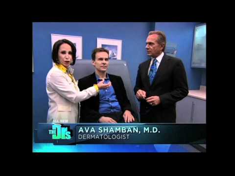 Removing Lip Lesion with V-Beam Laser