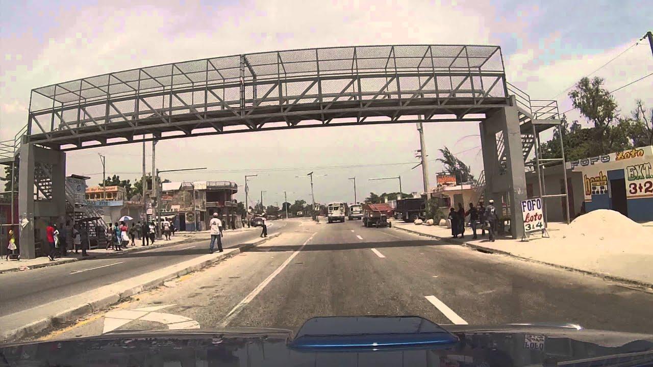 portauprince haiti carrefour route rail youtube