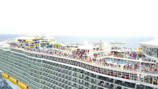 Mavic drone cruise departure vid.