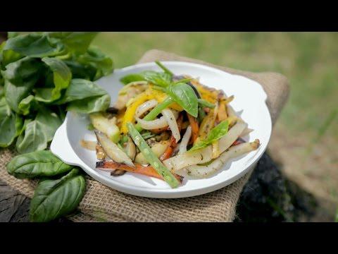 Любимые салаты с баклажанами с фото