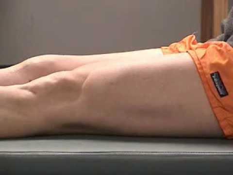 Quadriceps Sets Exercise Quadriceps Setting Exercise