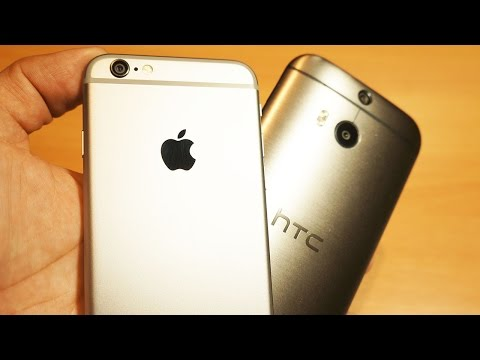 iPhone 6 vs HTC One M8 - Yes, I switched back
